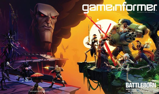 Gearbox Software will be issuing updates to their new property through Game Informer.