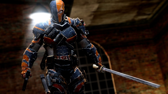 "Deathstroke, a mercenary in the DC universe, gained renewed popularity through the television show ""Arrow."""