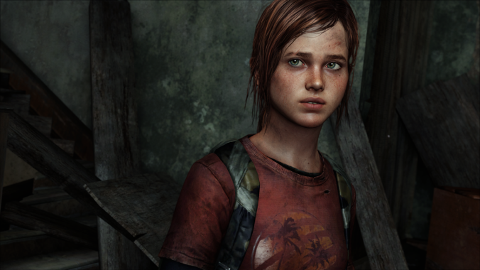 The character Ellie, voiced by Ashley Johnson, from the critically acclaimed 'The Last of Us.'