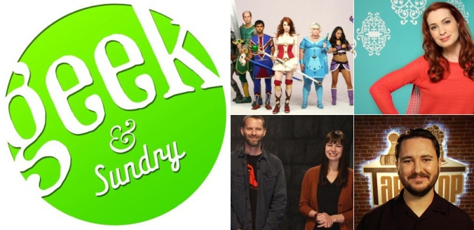 """The popular web community """"Geek and Sundry"""" hosts panels and events from several Comic Con favorites"""