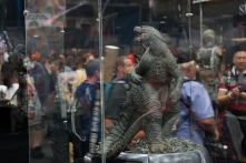 Godzilla had several appearances at the convention, including this Sideshow Collectables statue.