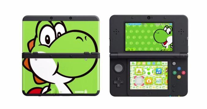 The New 3DS will allow users to create custom skins.
