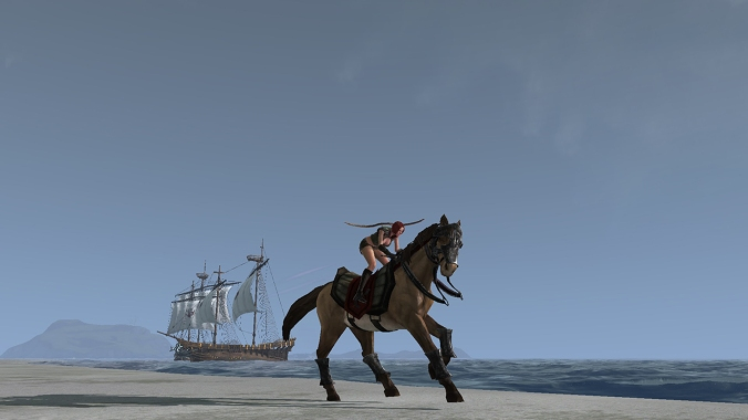 ArcheAge wastes no time in giving players a variety of movement options.