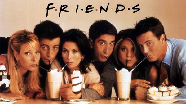 'Friends' remains one of the world's most popular shows of all time. (Warner Bros.)