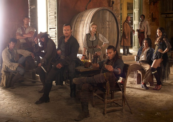 'Black Sails' tells the story of Captain Flint in the 20 years before 'Treasure Island' (Starz)