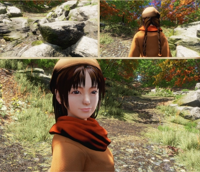 Product example images for 'Shenmue III' (Ys Net)