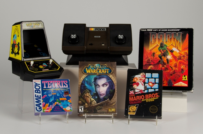 The inaugural class of the World Video Game Hall of Fame (The Strong Museum)
