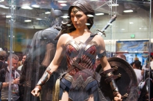 The Wonder Woman costume from the upcoming 'Batman v. Superman.'