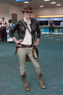 A fan genderswaps for her Indiana Jones costume
