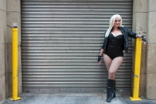 Mary-Ann Jones roams the San Diego streets as Black Canary.