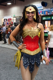 Wonder Woman was a fan-favorite among cosplayers at this year's SDCC.