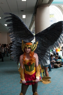 Jaclyn Rene showcases her wings as DC's Hawkgirl