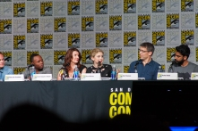 The 'iZombie' panel greeted fans on Friday afternoon.