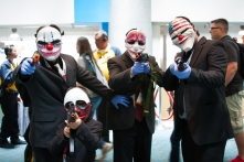 'Payday 2' cosplayers aim for an SDCC heist job.