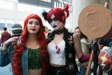 Ivy and Harley Quinn make up part of the Gotham City Sirens team.