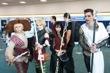 'Dragon Age' cosplayers could be seen exploring the SDCC wilds.