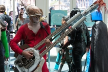 Flame Guitar Guy from 'Mad Max: Fury Road' pleased attendees. Even Conan O'Briend parodied the instrumentalist from the film.