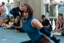 Korra fans showed up in force to this year's SDCC after the show's highly-praised finale.