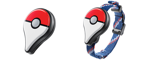 A look at the Pokemon Go! wearable device (Pokemon.com)